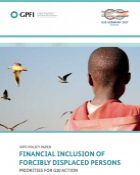 Policy Paper on Financial Inclusion of Forcibly Displaced Persons - cover