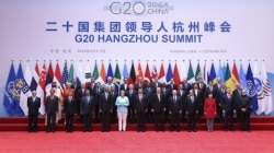 Participants in the G20 Hangzhou Summit