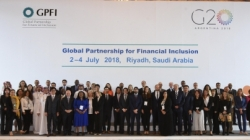 Family photo of the GPFI Forum in Riyadh