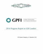 GPFI 2016 Progress Report to G20 Leaders